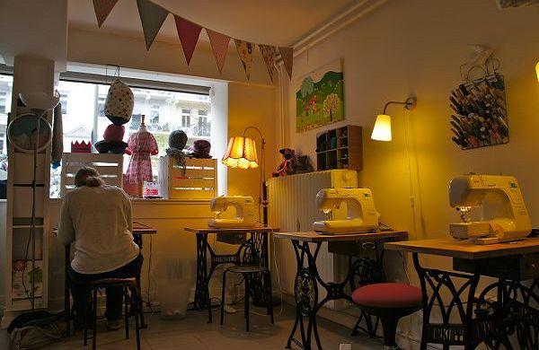DIY-Läden in Hamburg - ab an die Nähmaschine