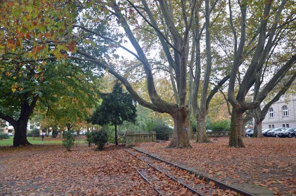 Parks in Köln: Römerpark Südstadt