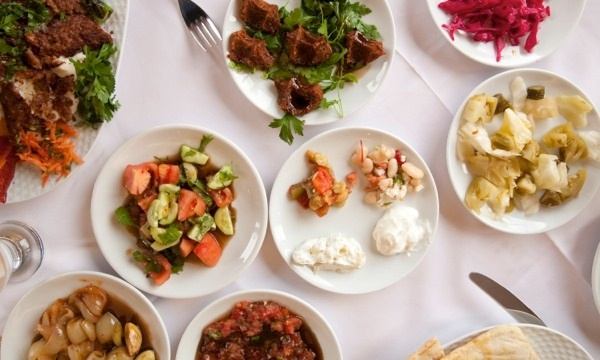 Turkish Restaurant Glasgow - Mezze