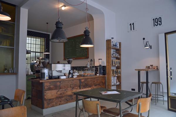 Kaffeegenuss in der Kölner Südstadt: ERNST Kaffeeröster