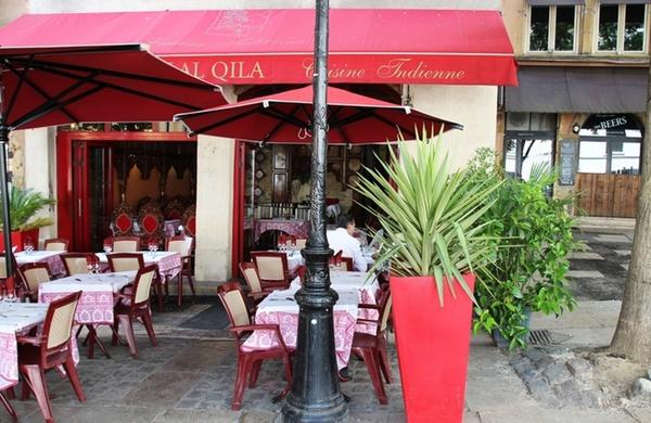 restaurant indien lyon lal qila