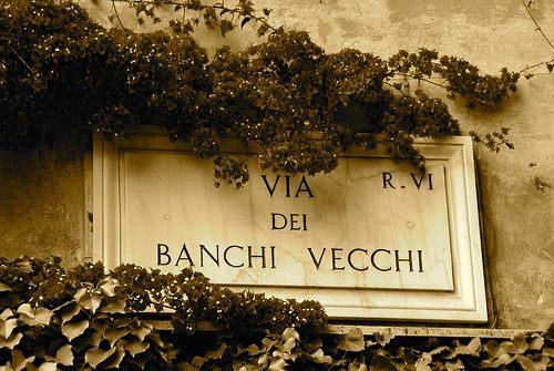 supplizio Dandini Banchi Vecchi Roma