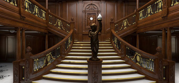 The Grand Staircase of the Titanic - Titanic Museum Belfast