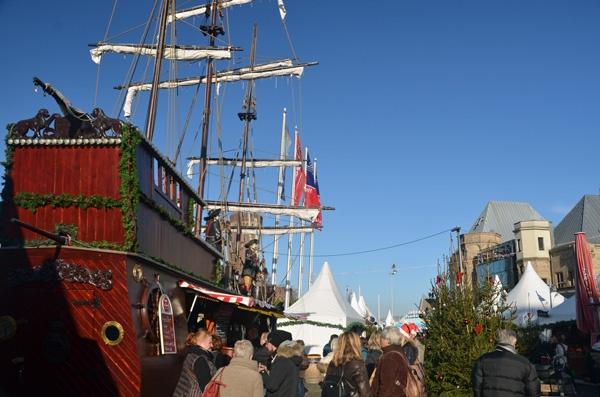 Hafen Weihnachtsmarkt in Köln