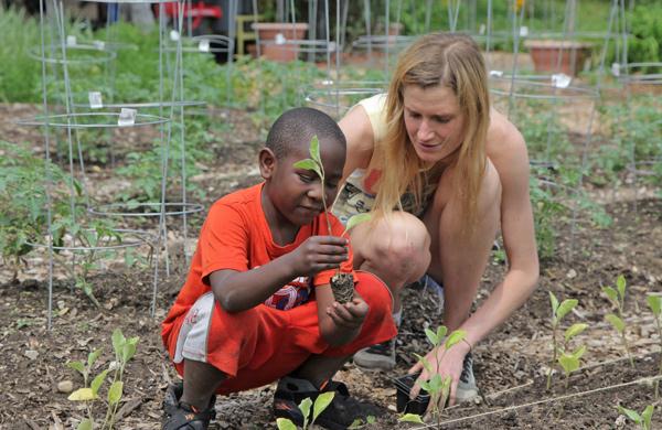 Cabrini-Green Youth Grow at Chicago Lights Urban Farm