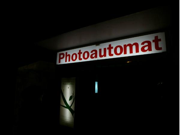 Der Fotoautomat oder Die Analogie der Vergänglichkeit