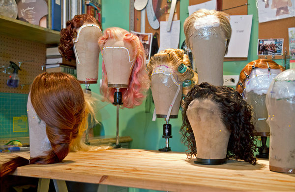 Hair Haute Couture: Meet the Wig-Making Collective at Penny Lane Studios