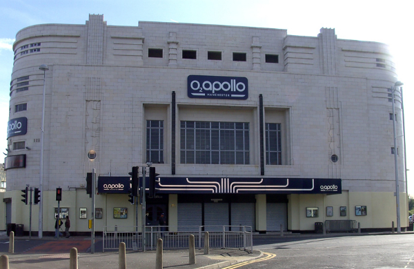 Manchester Apollo - Proving That New Isn't Always Better