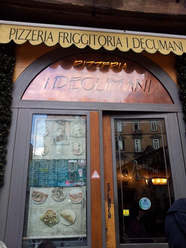 Decumani a Napoli