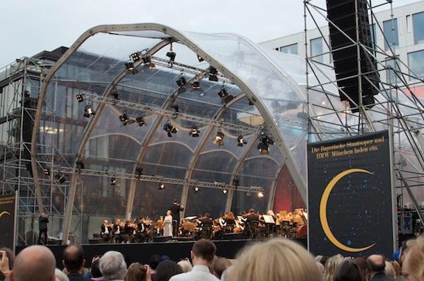 Uni Credit Festspielnacht mit dem Tölzer Knabenchor in der Kardinal-Faulhaber-Straße