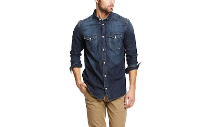 deal widget denim shirt 700c414