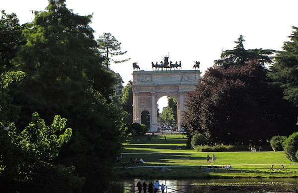 Parco Sempione, il polmone verde di Milano