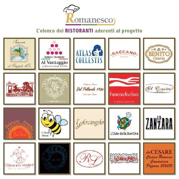 ristoranti Romanesco 2014