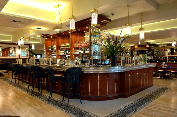 The Bar at Browns Restaurant Glasgow