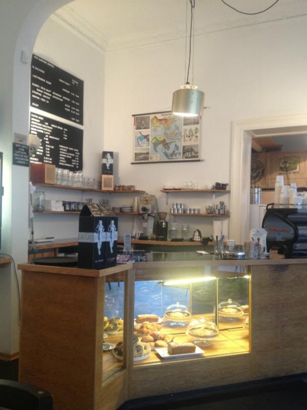 Leckere Kuchen im Cafe Five Elephants in Berlin