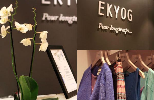 Ekyog pour longtemps, le textile Bio aux portes de Bordeaux