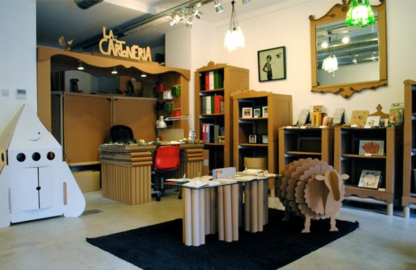 La Cartonería: Muebles Artesanos de Cartón y Papel