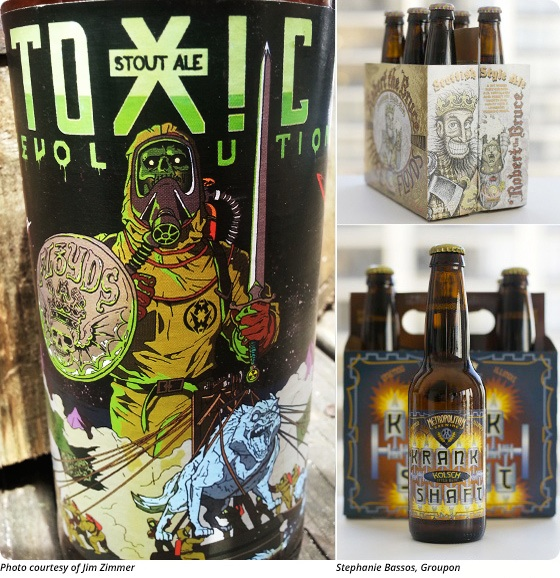 Sipping on Art: The Designs Behind Three Floyds and Metropolitan Brewing