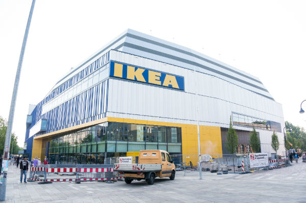 City IKEA in Hamburg Altona