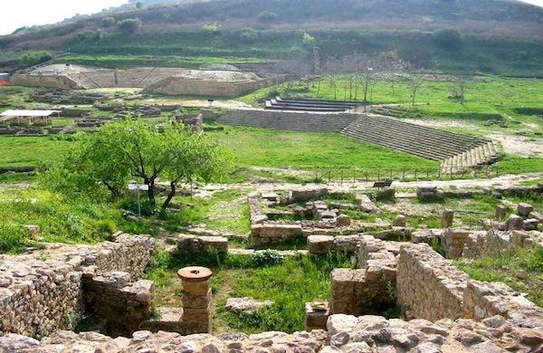 L'area archeologica di Morgantina da non perdere vicino Catania