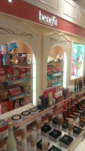 Display at Benefit