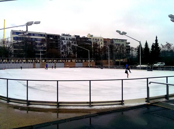 Die besten Orte zum Schlittschuhlaufen in Berlin