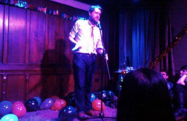 Joe Daly Performing at Bad Language