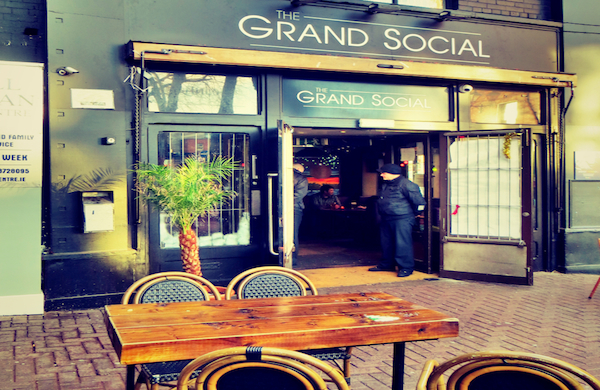 The exterior of the Grand Social in Dublin
