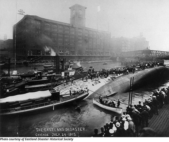 Ghosts in the River: Touring the Site of the Eastland Disaster