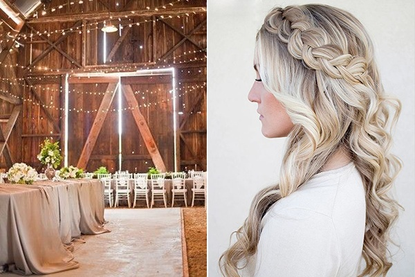 barn braids loose curls