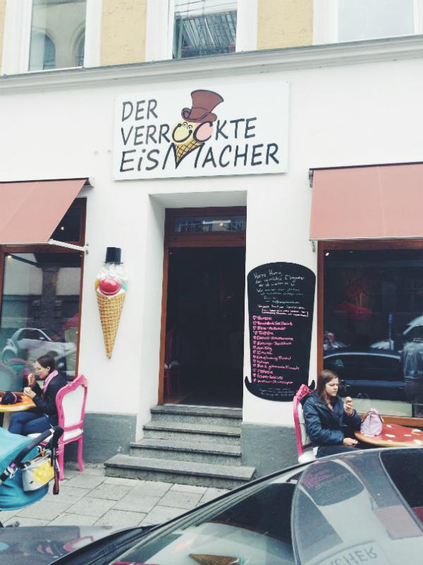 Der verrückte Eismacher in München