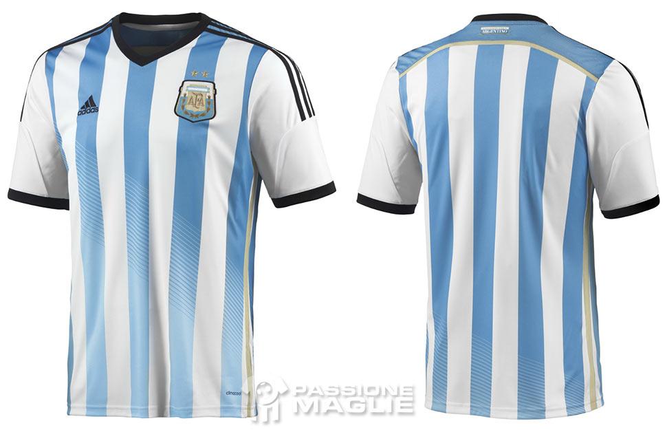 maglia argentina 2014