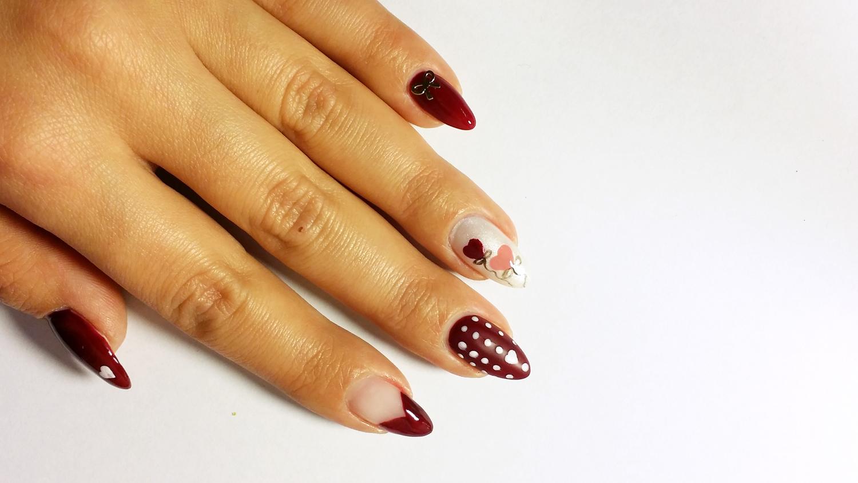 Conosciuto La nail art perfetta per San Valentino KT05