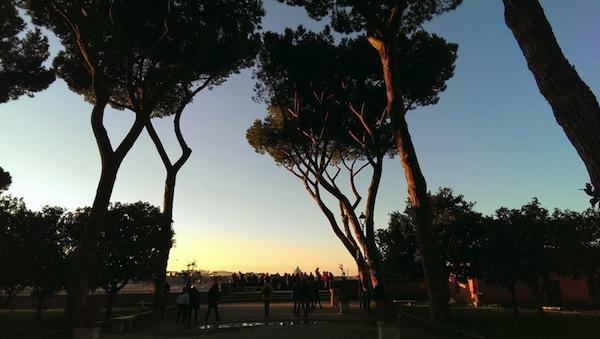3 punti panoramici da dove vedere roma dall 39 alto - Giardino degli aranci frattamaggiore ...