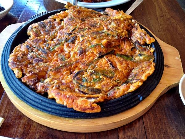 Seoul Beacon Hill Boston Scallian Pancake Korean Food