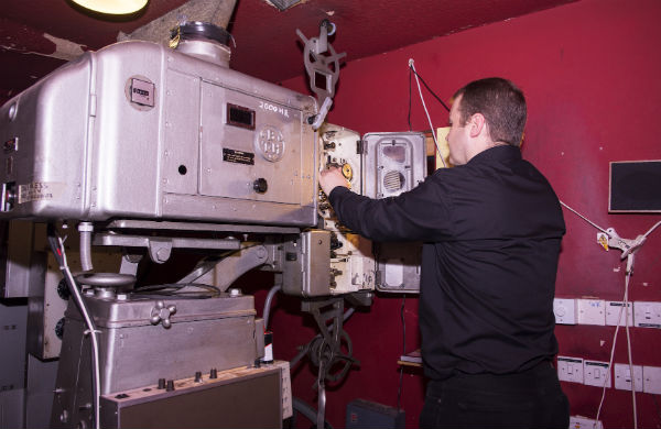 Original cinema projector