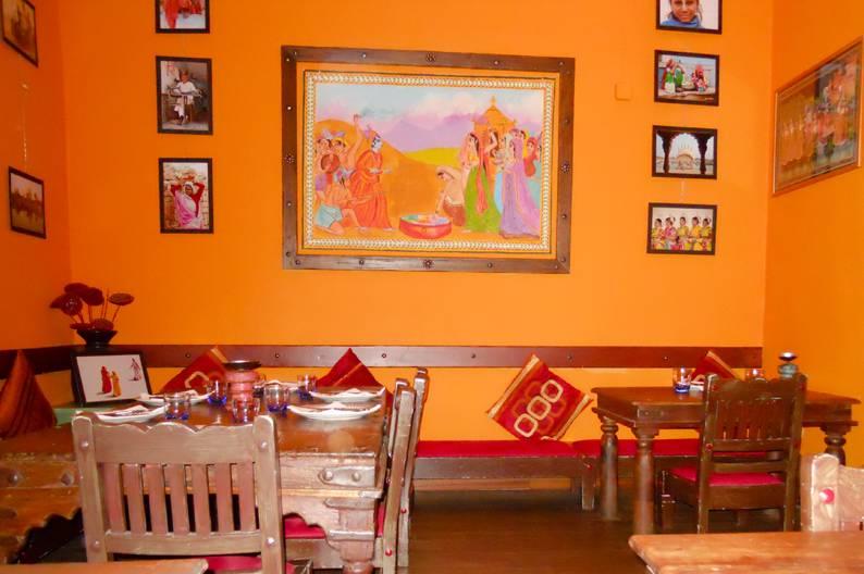 La cucina indiana di Rangoli in centro a Milano