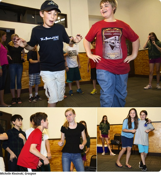 Empowering Improv: Second City Puts Kids on the Spot