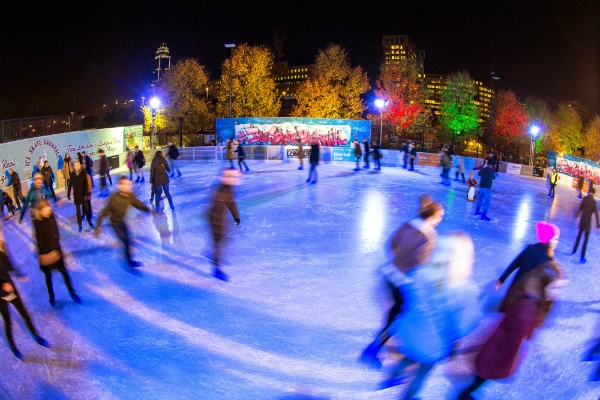 Things to do in London at Christmas - Ice Skating