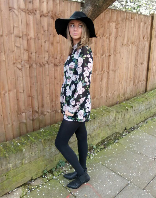 Paula in florals