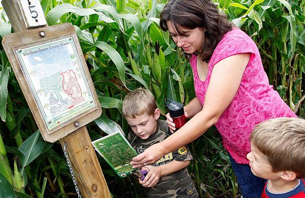 Inside the World's Largest Corn Maze at Richardson Adventure Farm