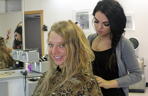 I Watched My Friend Get Fabulous Fusion Hair Extensions