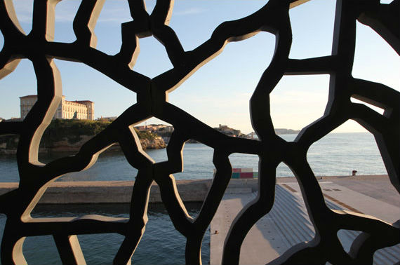 Vue du Mucem Marseille