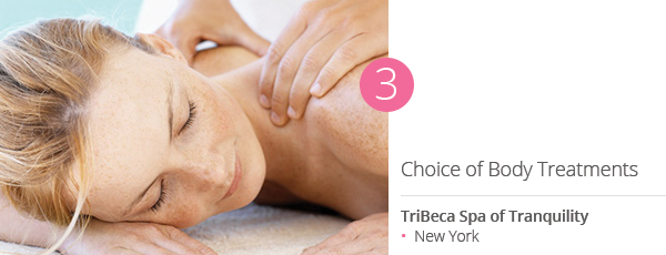 Choice of Body Treatments at TriBeca Spa of Tranquility