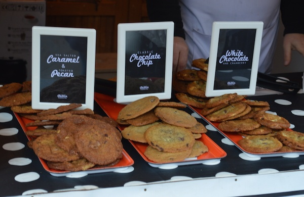 cookies at St Stephen's Green Christmas Market