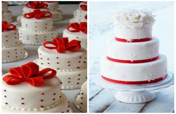 torta matrimonio inverno