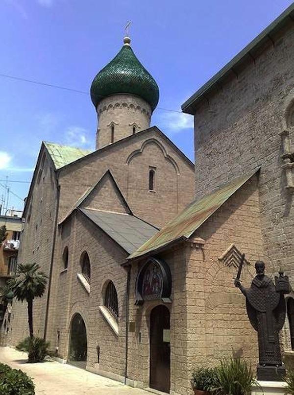 esterno chiesa russa