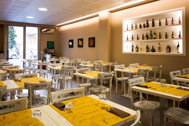 La pizzeria Magnifica di Maurizio Valentini a Roma