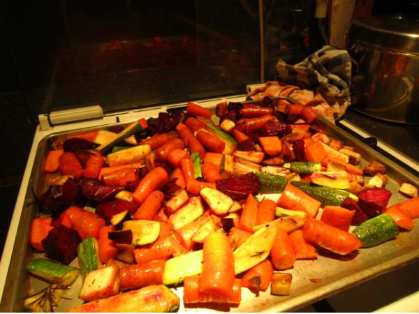 Vegane Volksküche in der Jägerpassage