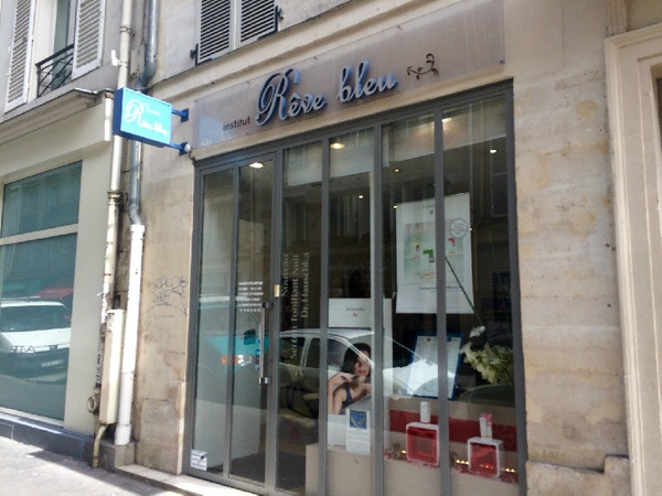 institut fish pedicure paris reve bleu